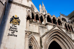 Tour of Royal Courts of Justice